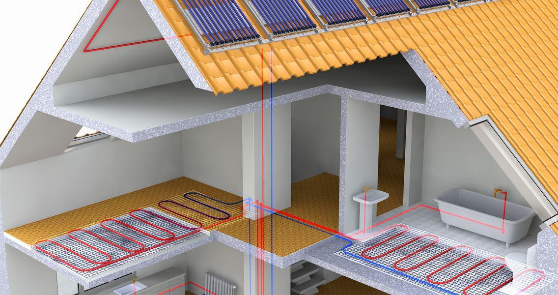 Auswahl der Kollektoren für kostengünstige Solarthermie als Grafik