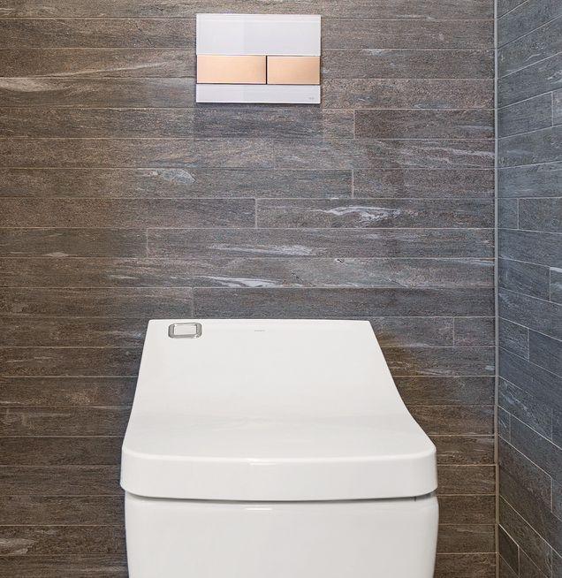 WC mit wassersparendem Spülsystem
