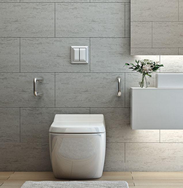 Barrierearmes modernes Badezimmer