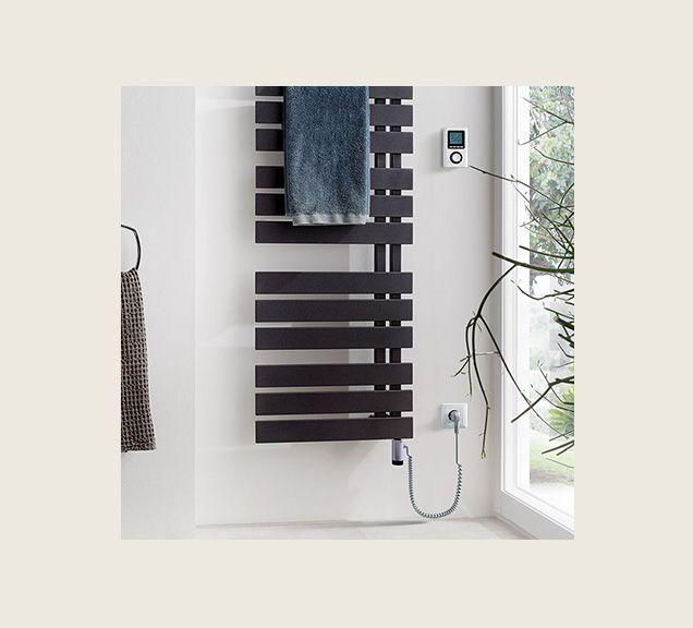 Heizkörper im Badezimmer Elektro- und Mischbetrieb