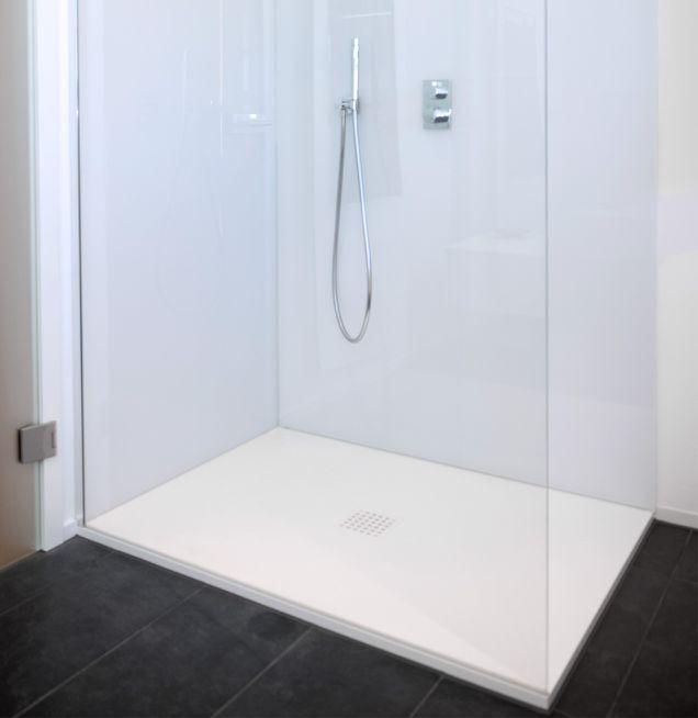 Beispiel Ausstattung Duschwanne bei Die Badgestalter