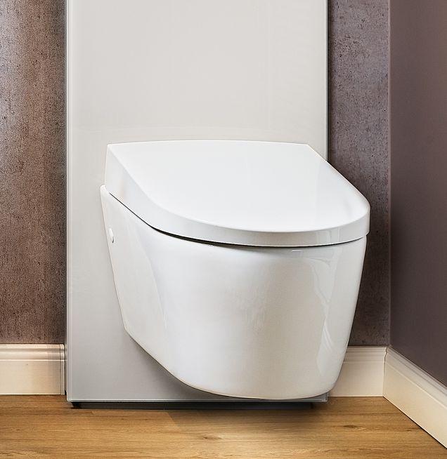 Spülrandloses WC bei Die Badgestalter