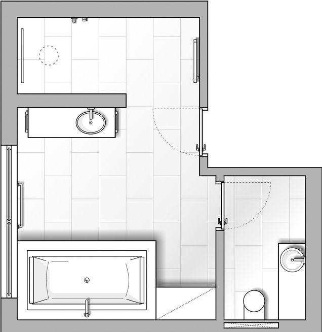 Kreative und lösungsorientierte Planung des Badezimmers von Die Badgestalter