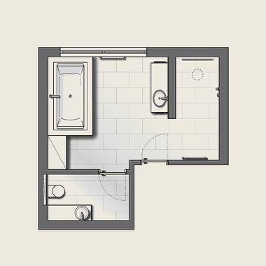 Funktionsbereiche Badezimmer Planung