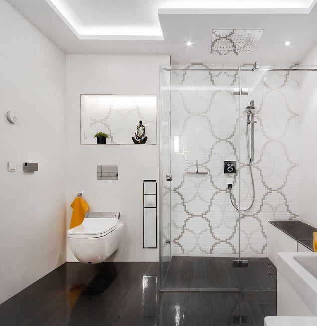 Barrierefreies Duschbad mit WC