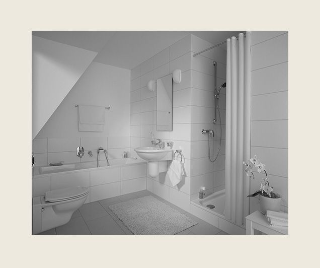 Teilsanierung des Badezimmers durch Dekorplatten