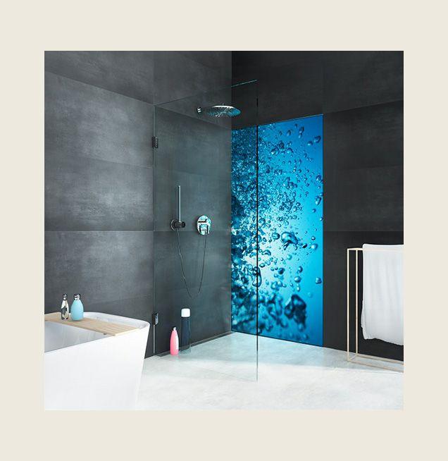 Duschabtrennung Glas