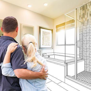 Individuelle Vorschläge bei Planung des neuen Badezimmers von Die Badgestalter