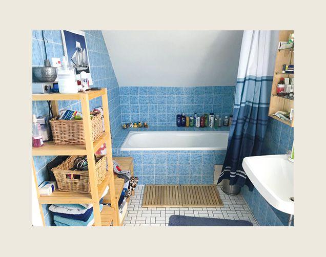 Veraltetes Design Badezimmer