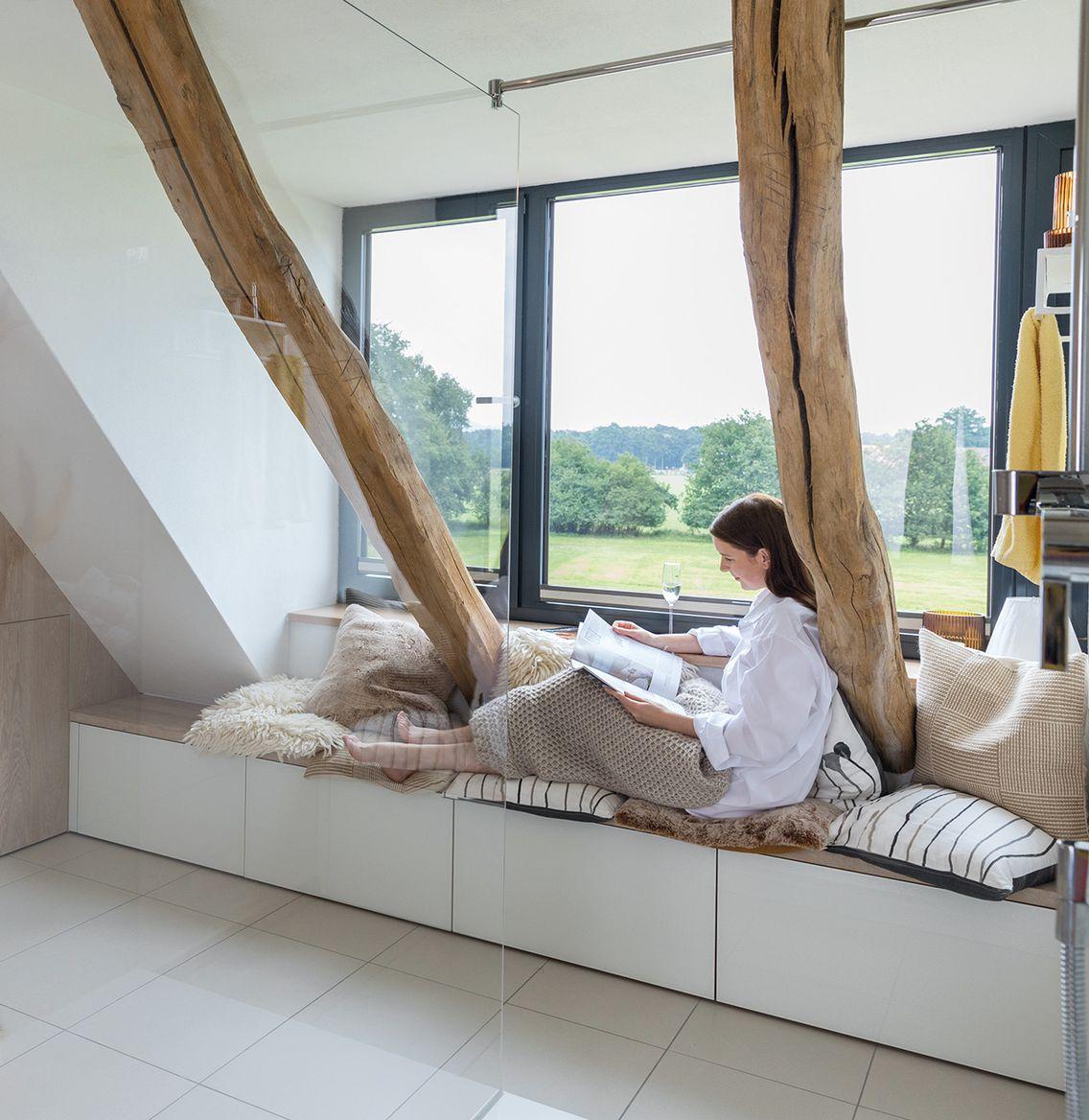 Wellnessoase durch passende Badmöbel im Badezimmer