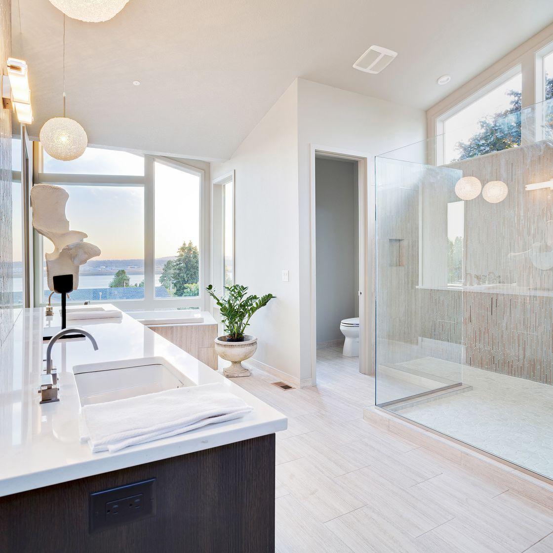 Natürliche Beleuchtung Tageslicht für große Badezimmer