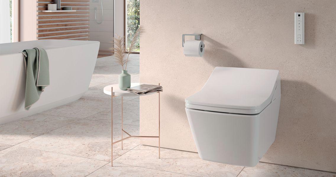 Pflege von Bad und WC
