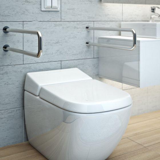 Bad mit barrierefreiem WC