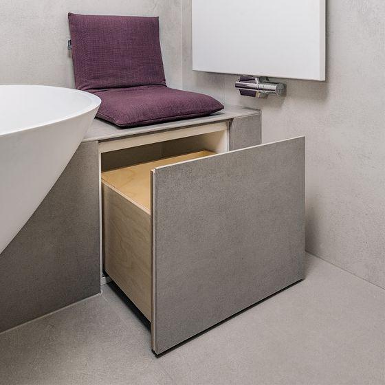 Stauraum im Badezimmer durch funktionale Badezimmermöbel