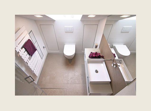 Kleines Badezimmer vergrößern